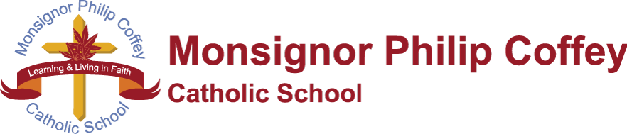 Monsignor Philip Coffey Catholic School Logo
